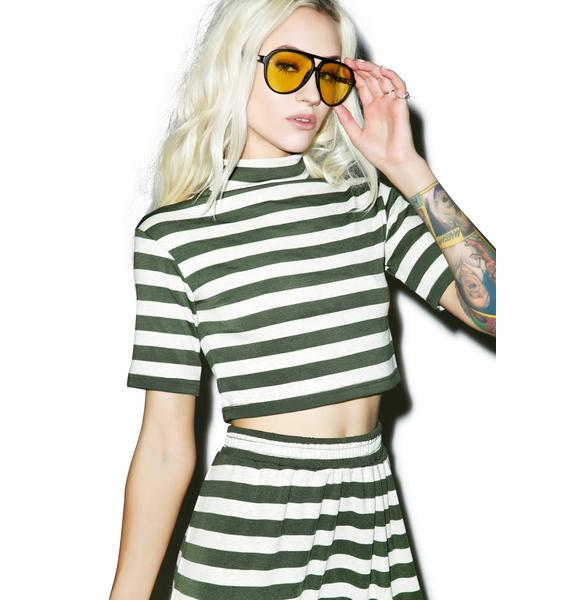 Somedays Lovin Nomad Stripe Crop Top