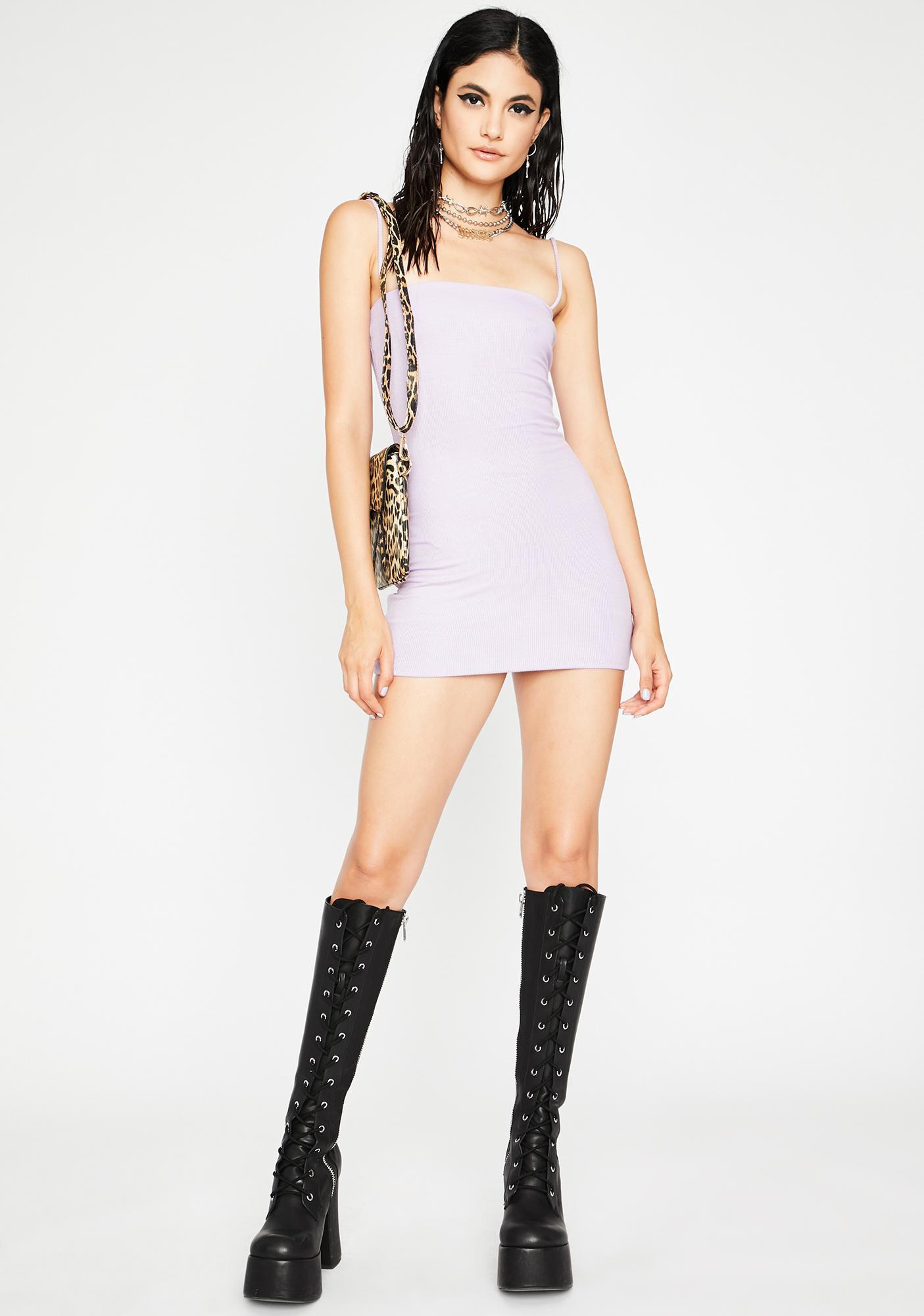 Say Please Mini Dress