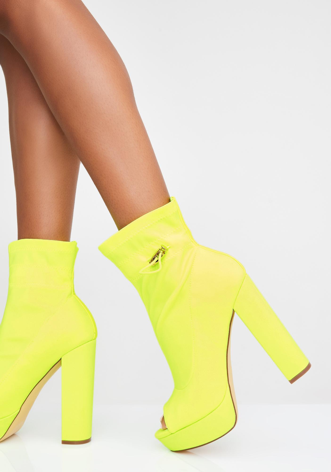 Natural Beauty Platform Boots