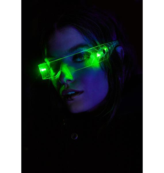Cyberdog Light Up Screw Visor
