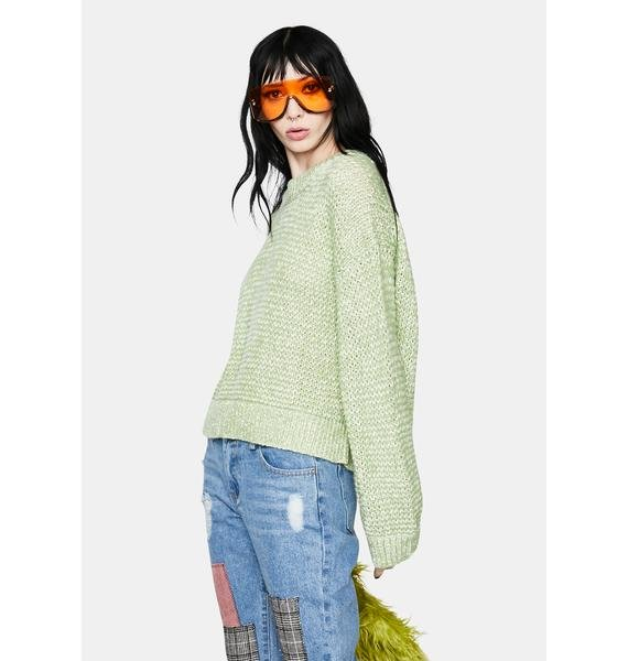 Straight Up Knit Sweater