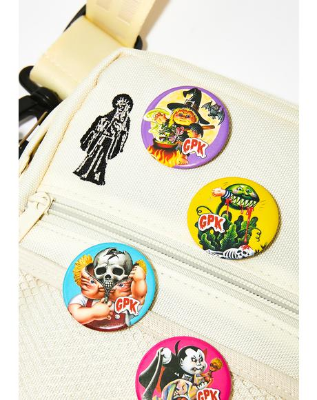 Garbage Pail Kids Button Set