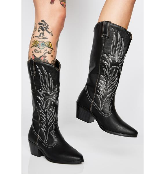 New Frontier Cowboy Boots