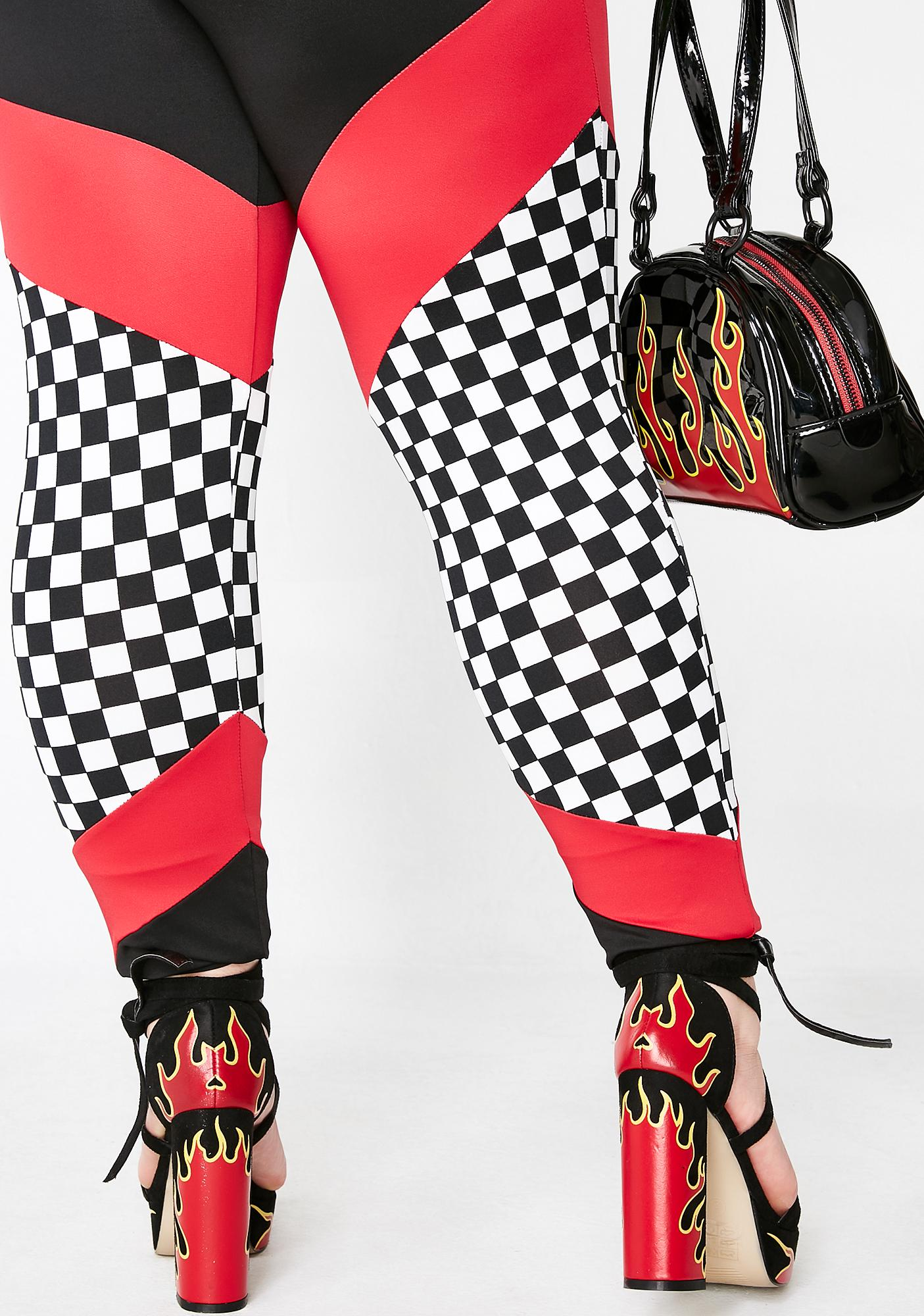 Hottt Rida Checkered Set