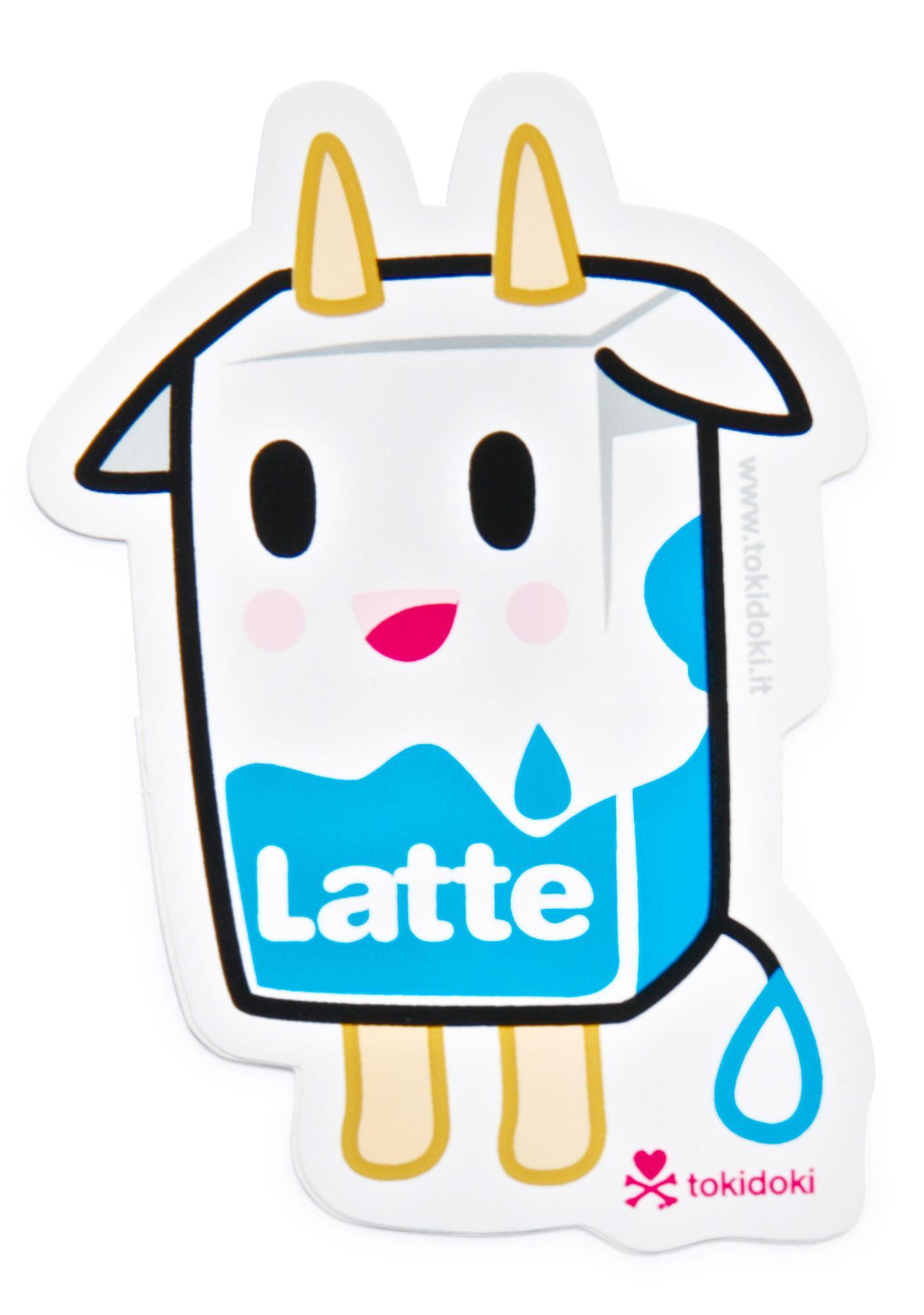 Tokidoki Latte Sticker