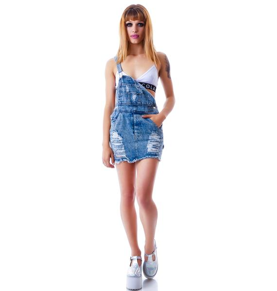 Shorty Overall Skirt