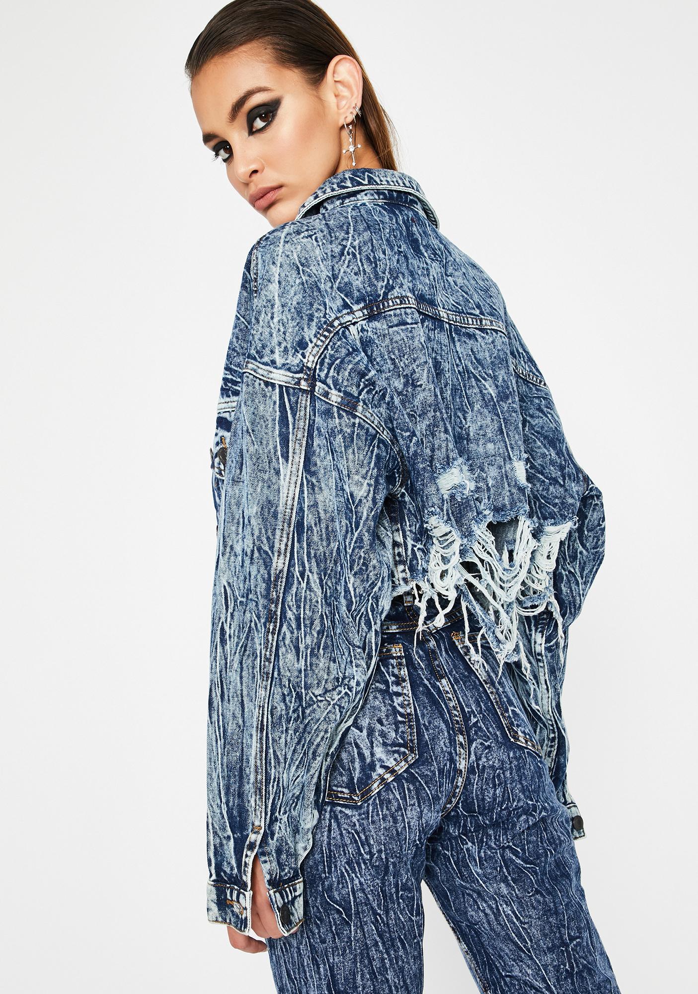 Maxxxed Out Denim Jacket