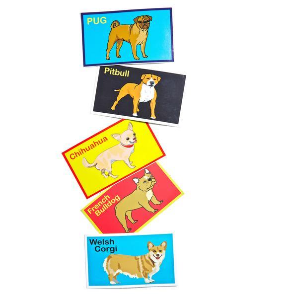 Dog LTD. Pit Bull Sticker