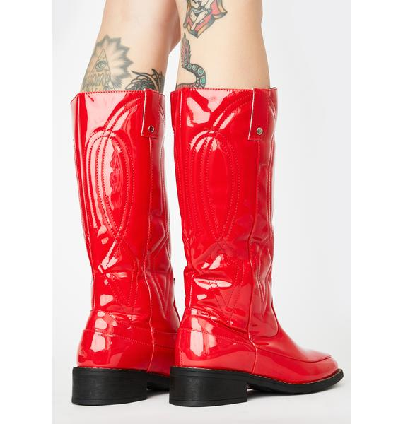 Put Out My Fire Cowboy Boots