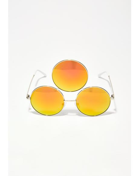 Golden Teacher 3rd Eye Sunglasses