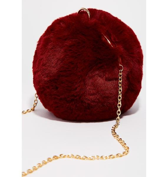 Wine Ball Of Fluff Bag