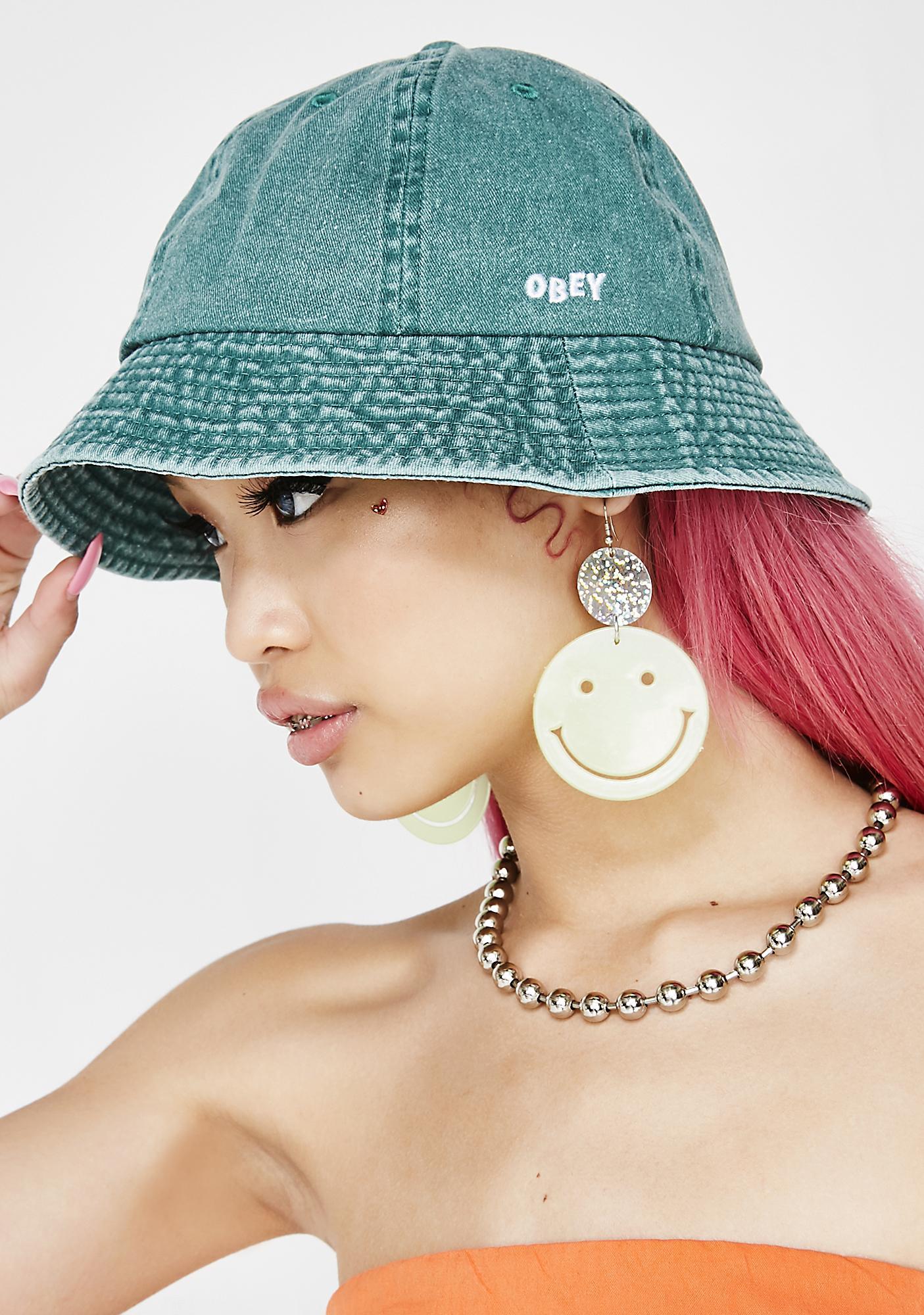 a20e4efc70c64 Obey Decades Bucket Hat