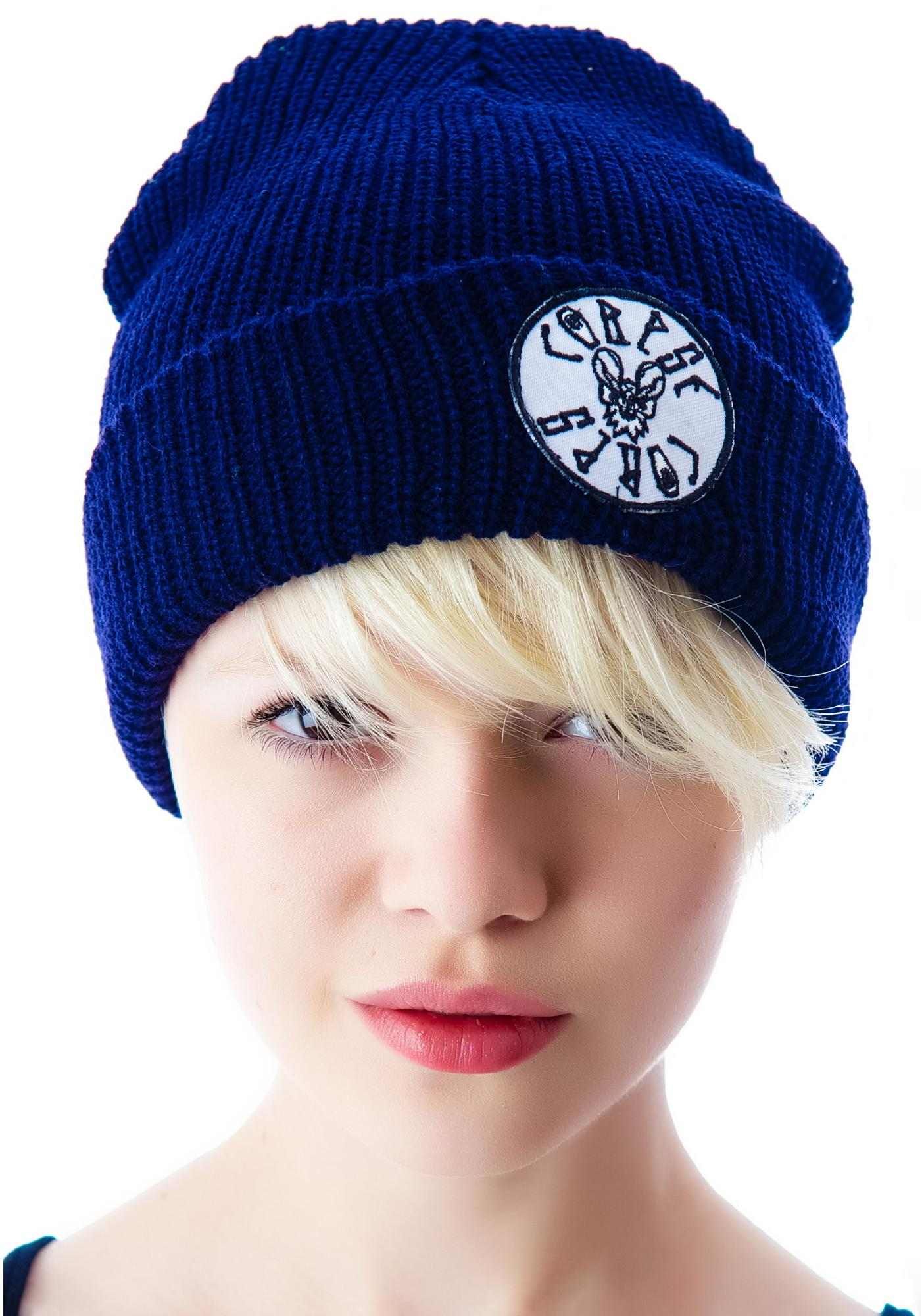 Bat Patch Beanie