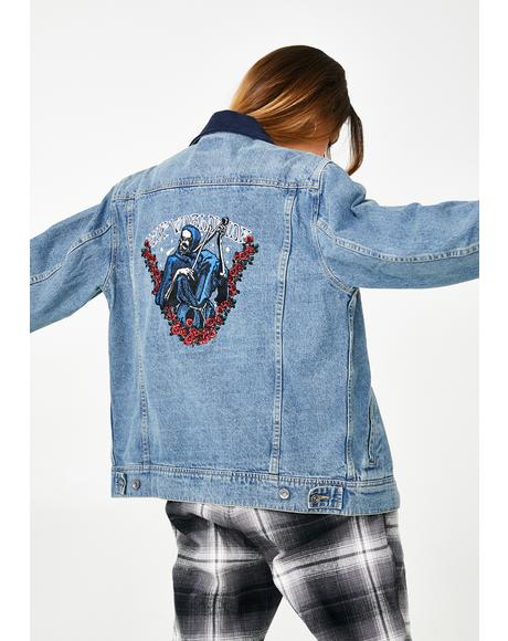 Prayers Denim Jacket