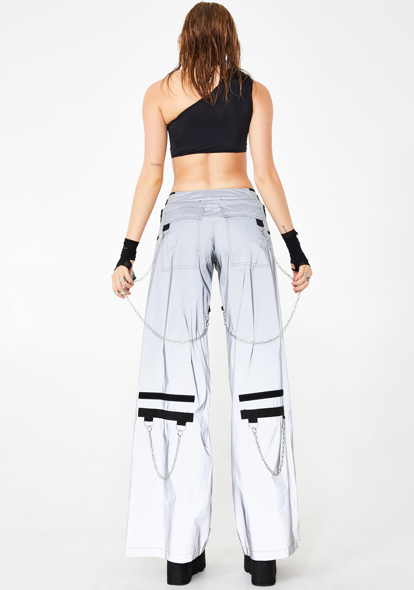 Namilia Reflective Breakaway Cargo Pants