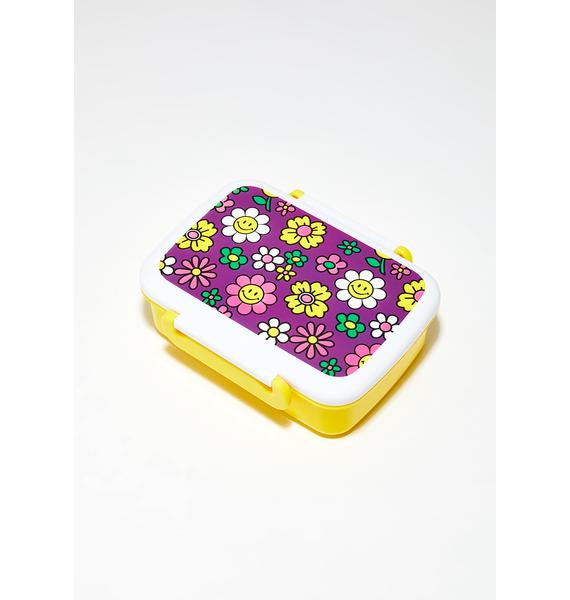 Just Delighted Flower Print Lunchbox