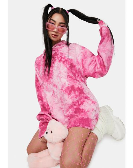 Rose Blend Everyday Tie Dye Hoodie