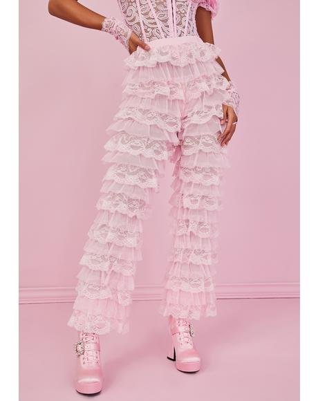 Ode To Romance Ruffle Pants