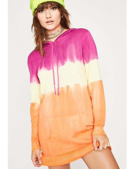 Polar Psycho Hooded Dress