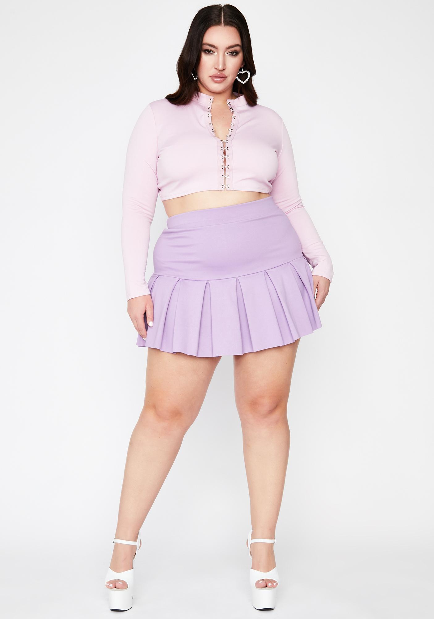 Lilac Gonna Make It Right Crop Top