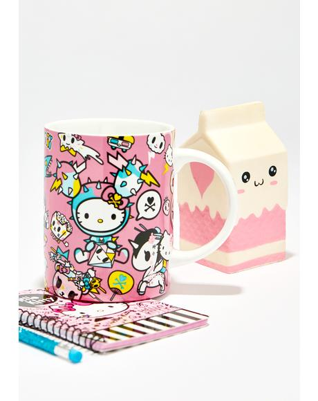 Hello Kitty Tokidoki Ceramic Mug