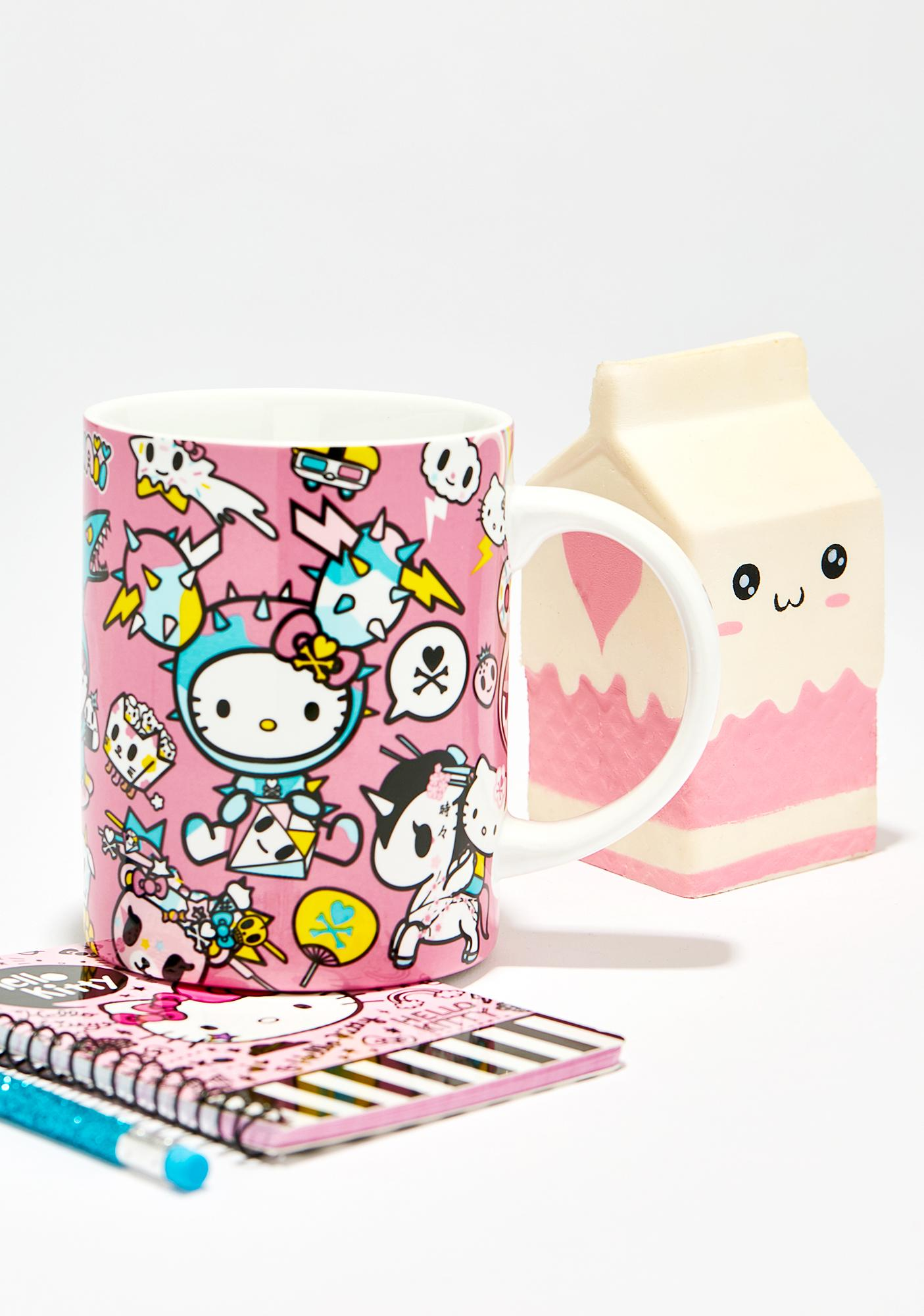 Sanrio Hello Kitty Tokidoki Ceramic Mug