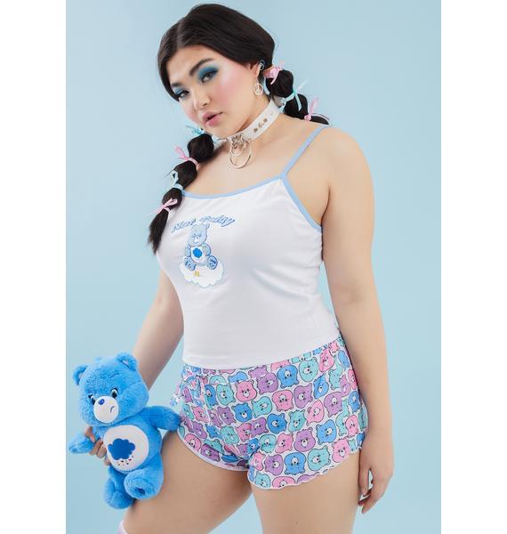Dolls Kill x Care Bears I'm Grumpy Not Mad Pajama Set