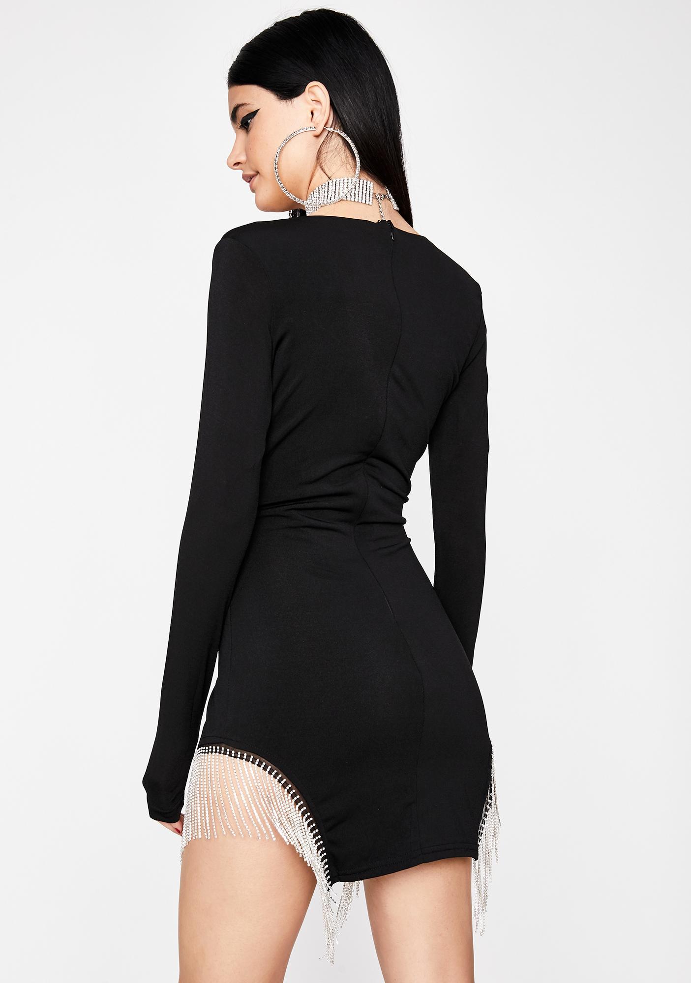 Dime Piece Fringe Dress