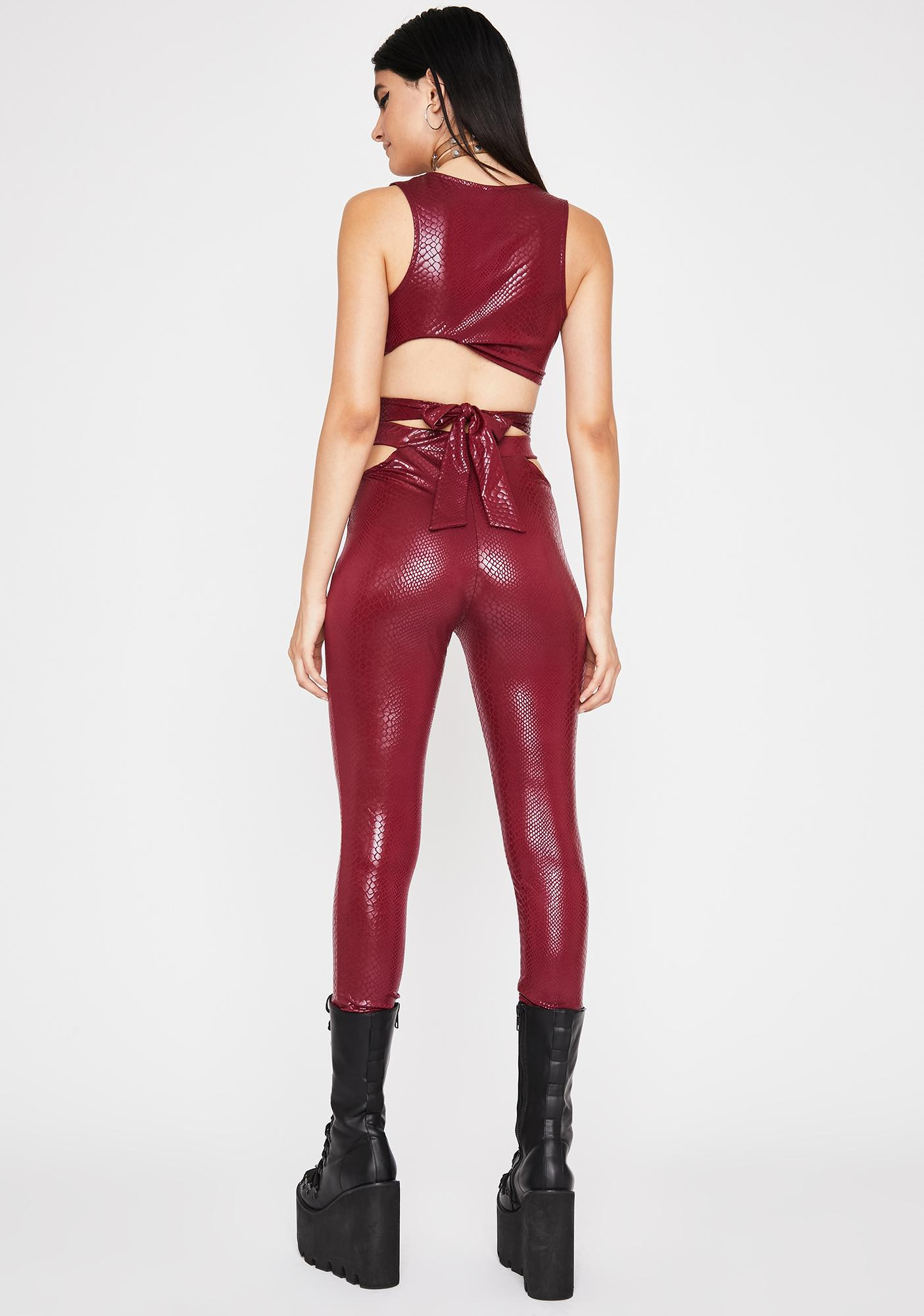Fire Totally Hiss'terical Pant Set