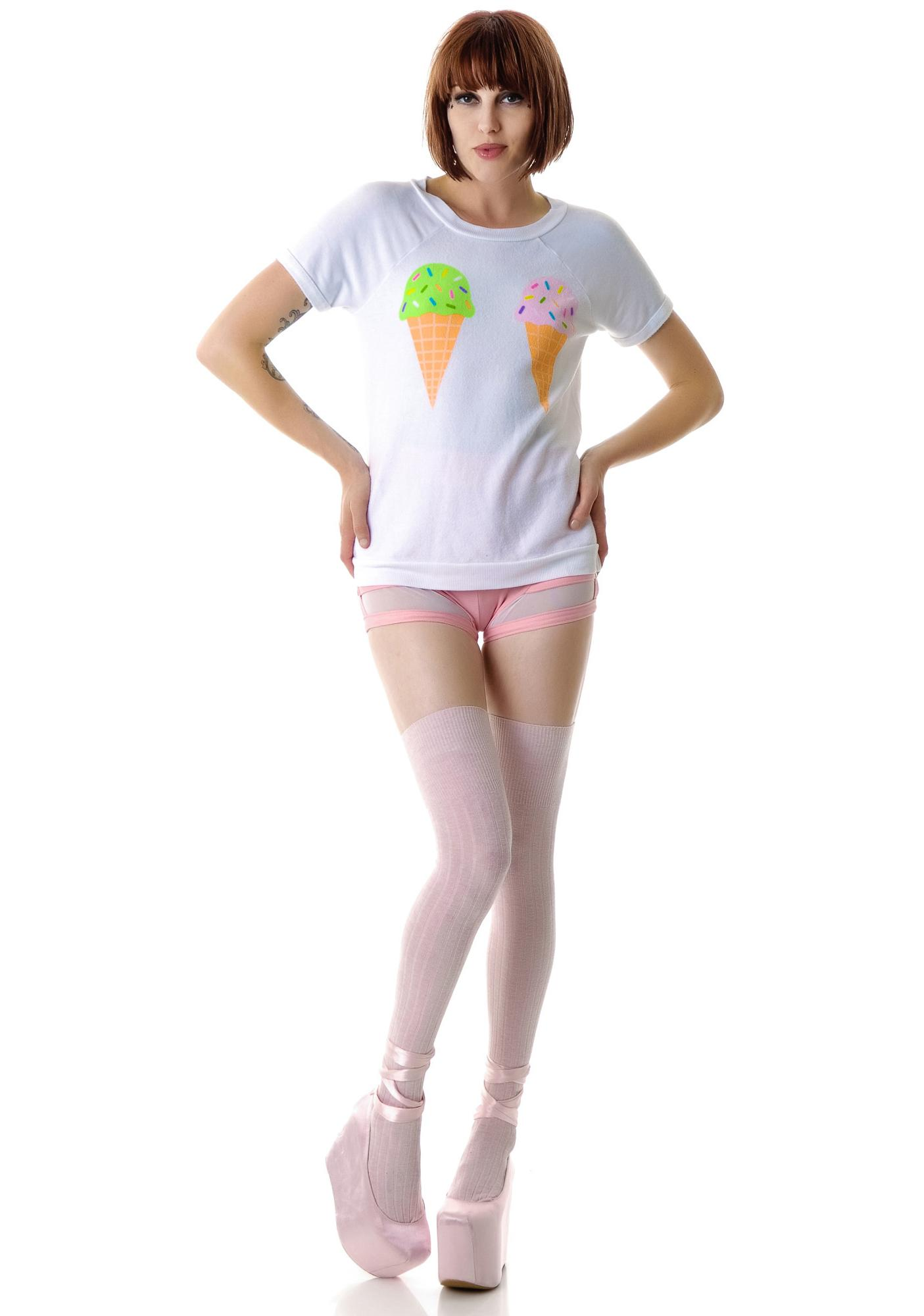 Wildfox Couture We Dream Of Ice Cream Camden Top