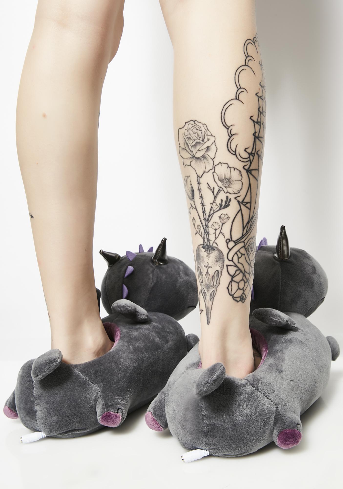 Smoko Orochi Dragon Heated Slippers