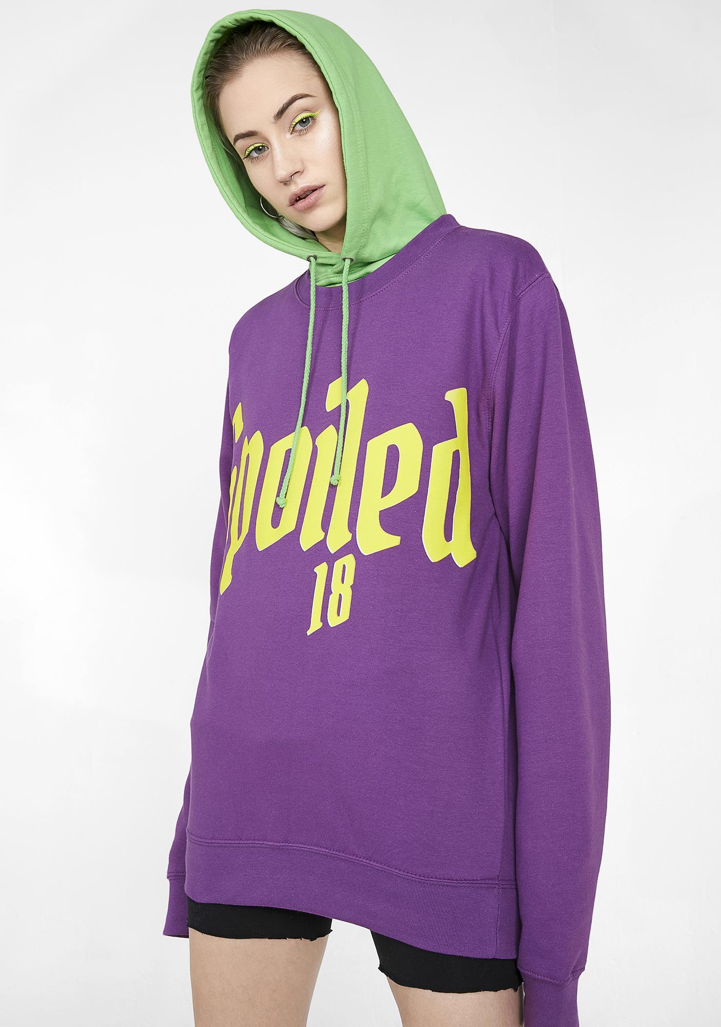 Illustrated People Spoiled Graphic Sweatshirt