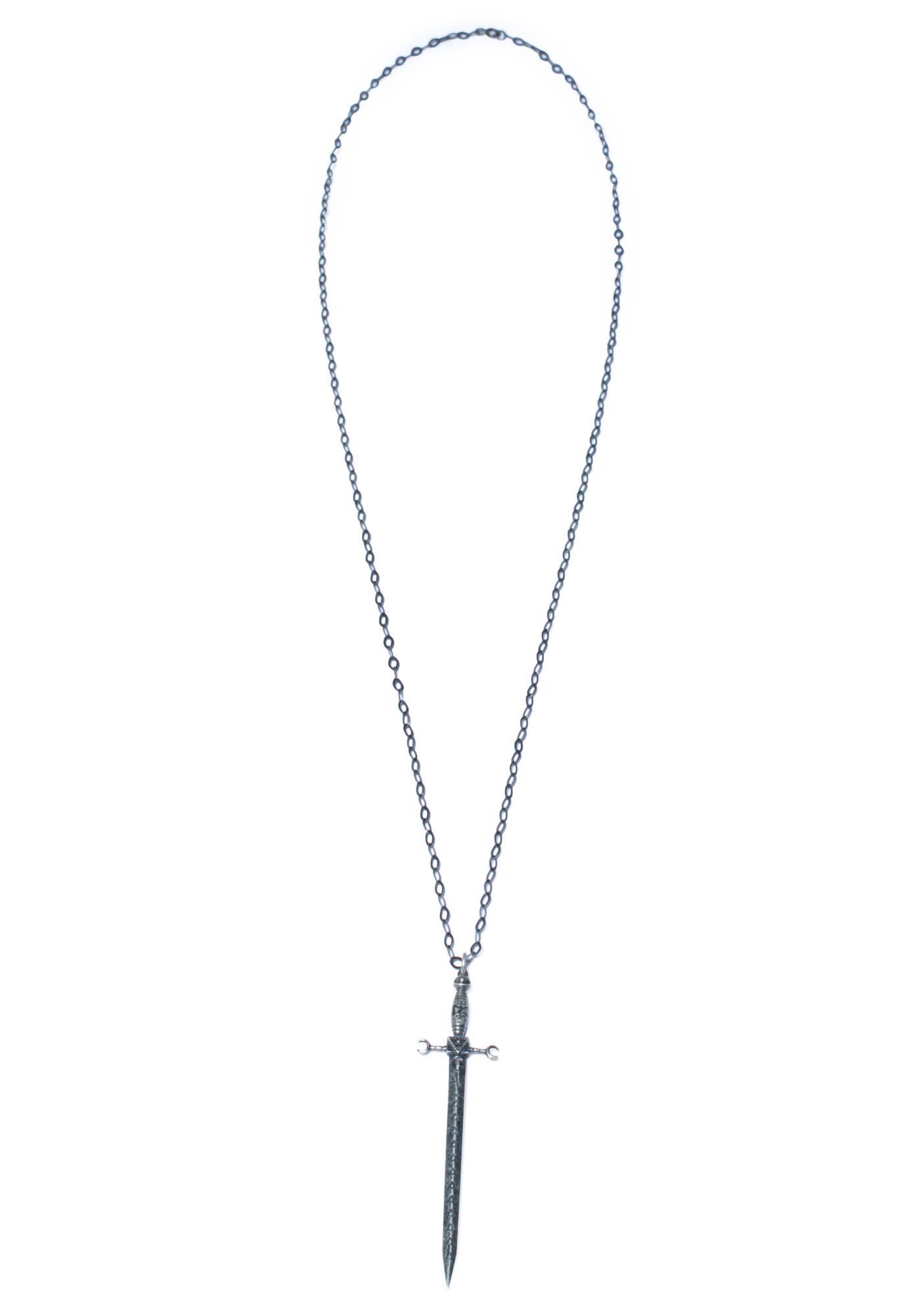 Disturbia Vanquish Pendant Necklace