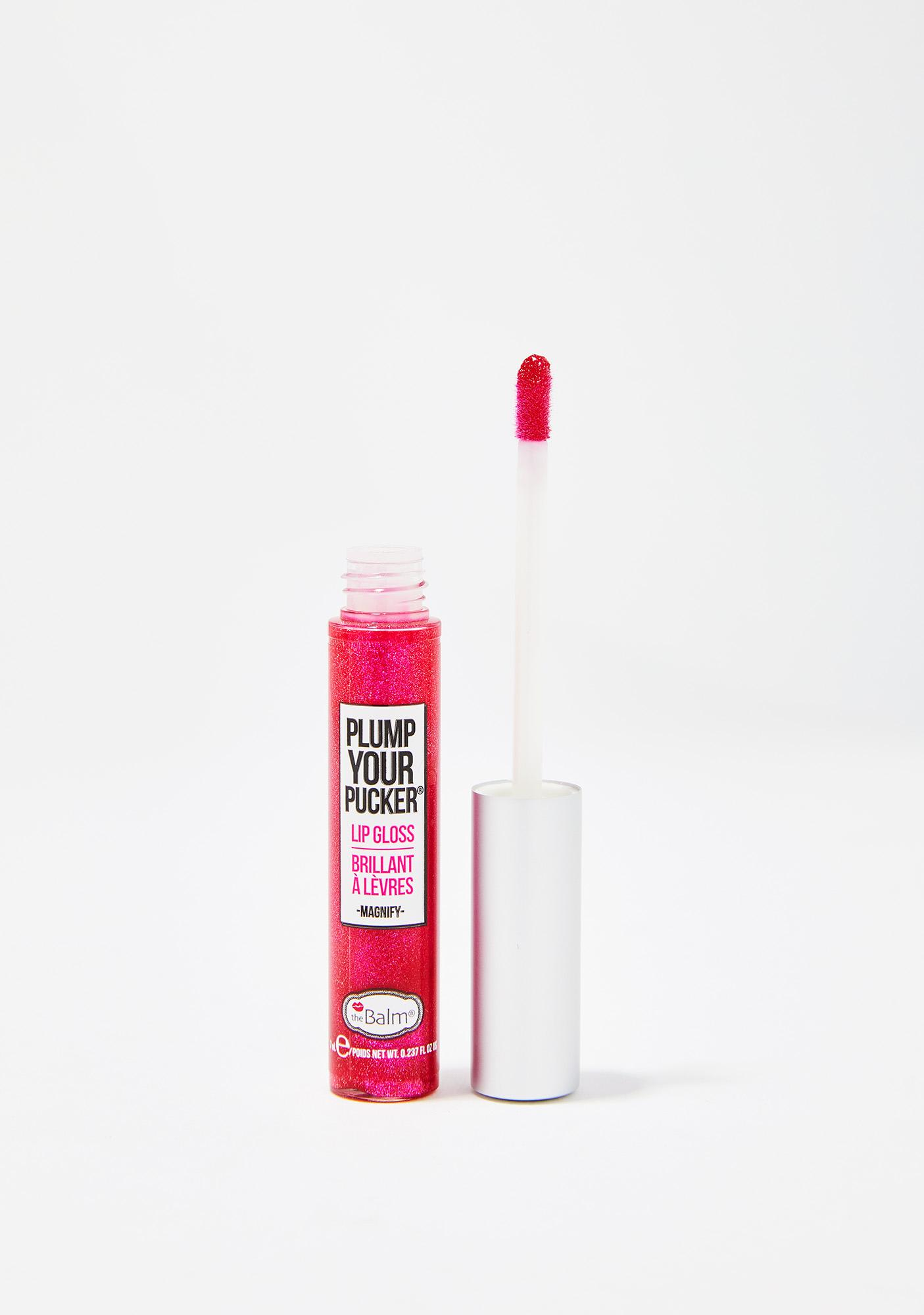 The Balm Magnify Plump Your Pucker Lip Gloss