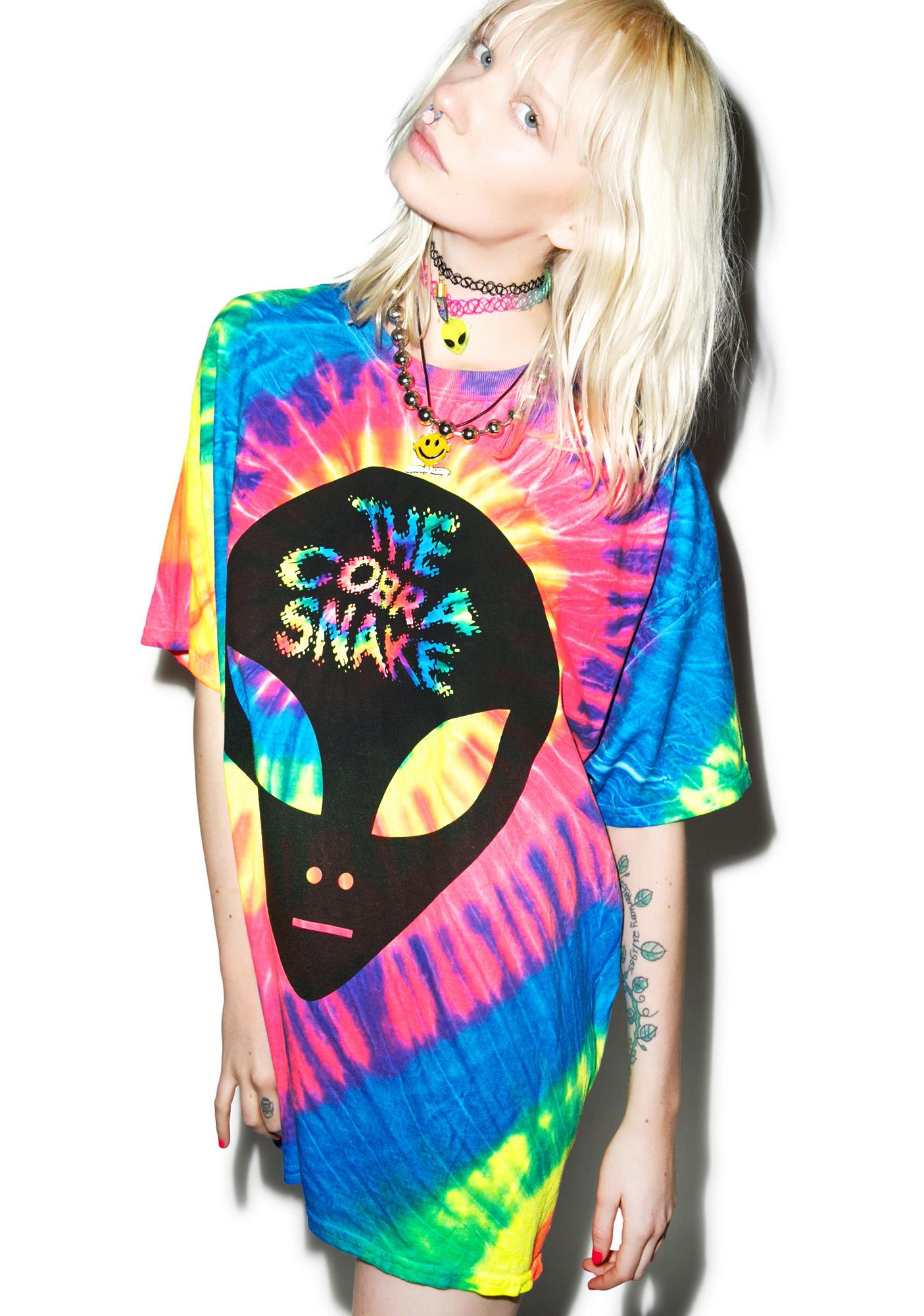 The Cobra Snake Alien Abduction Tee