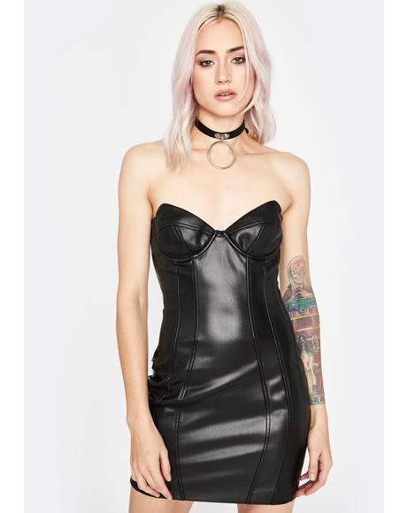 Coal Buy Me Somethin' Bodycon Dress