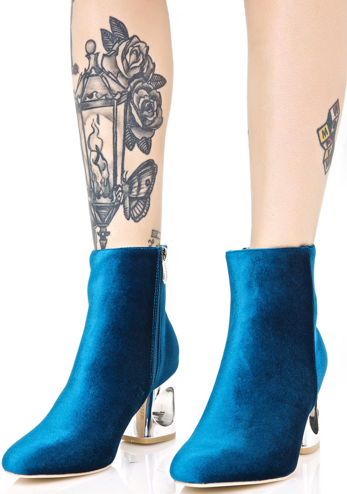 Royal Roulette Cutout Boots
