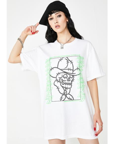 Barb Wire Cowboy Tee