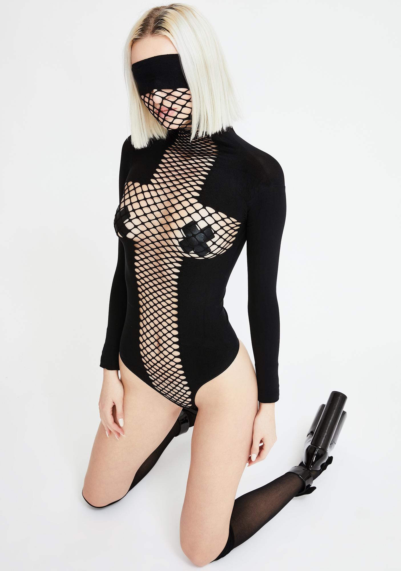 On The Run Masked Bodysuit