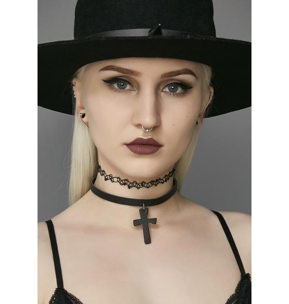 Not So Holy Cross Choker