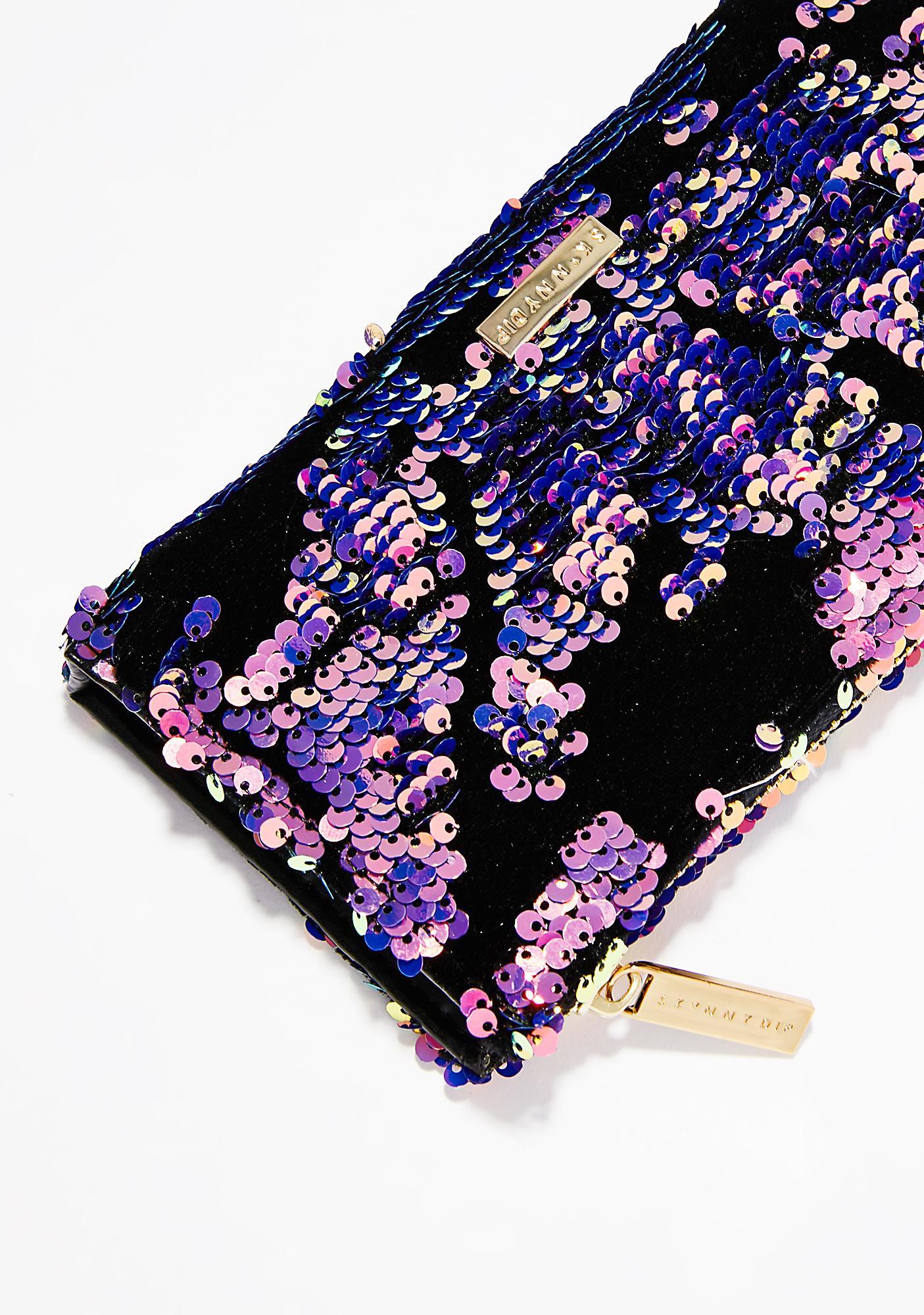 Skinnydip Sequin Luxe Wallet