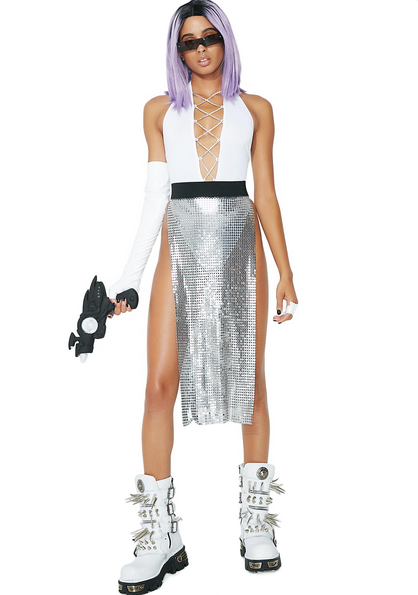 Club Exx x Spirit Sisters Chainmail Skirt