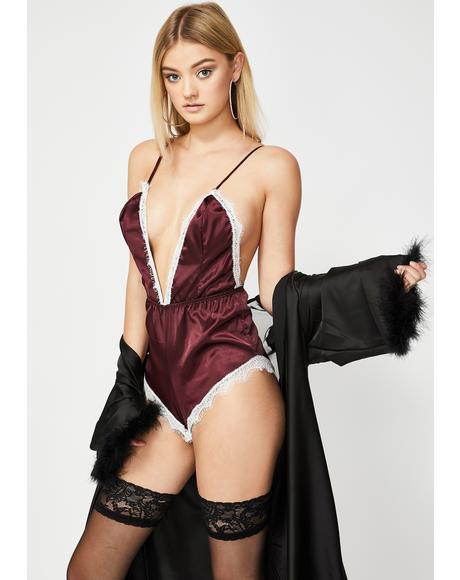 Someone To Love Satin Romper