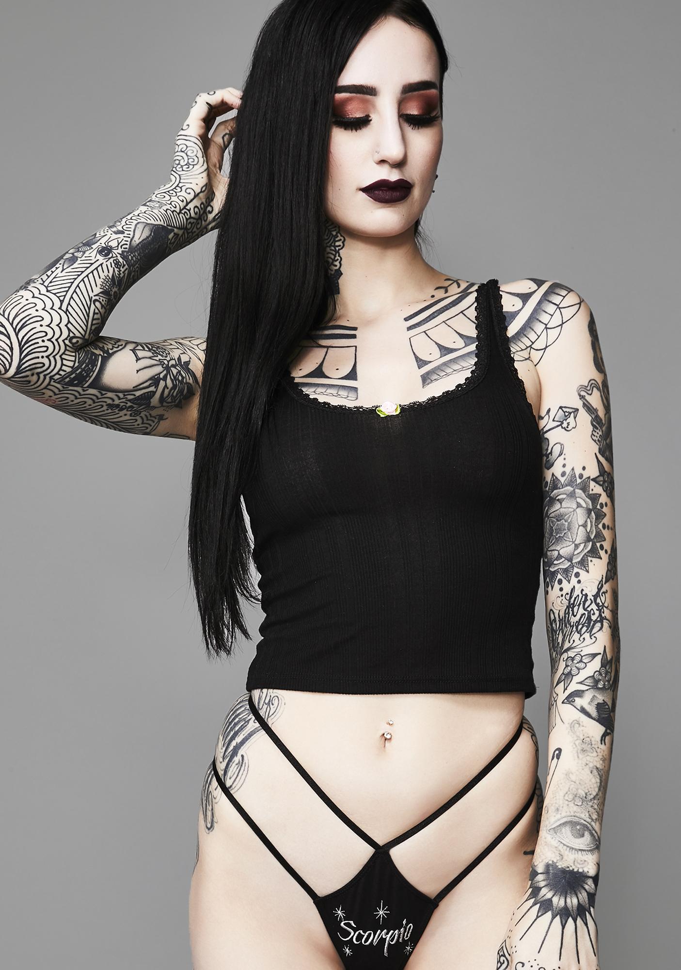 Widow Dark Side Of Scorpio Panty