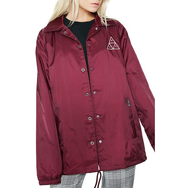 HUF Triple Triangle Coaches Jacket