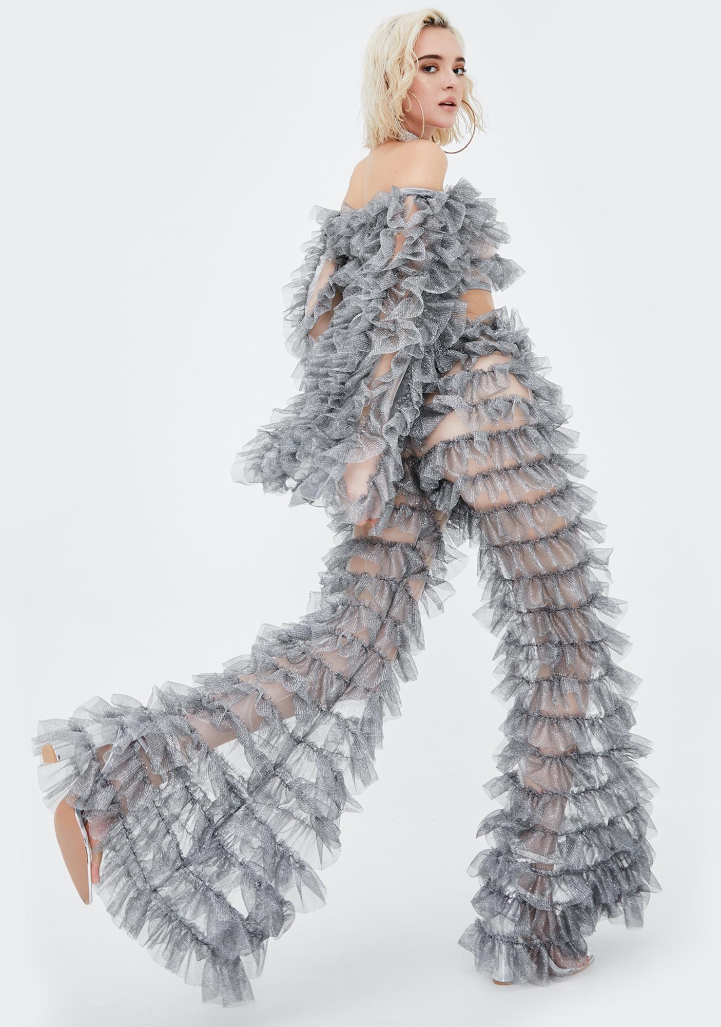 Kiki Riki Heart On Ice Tulle Pants