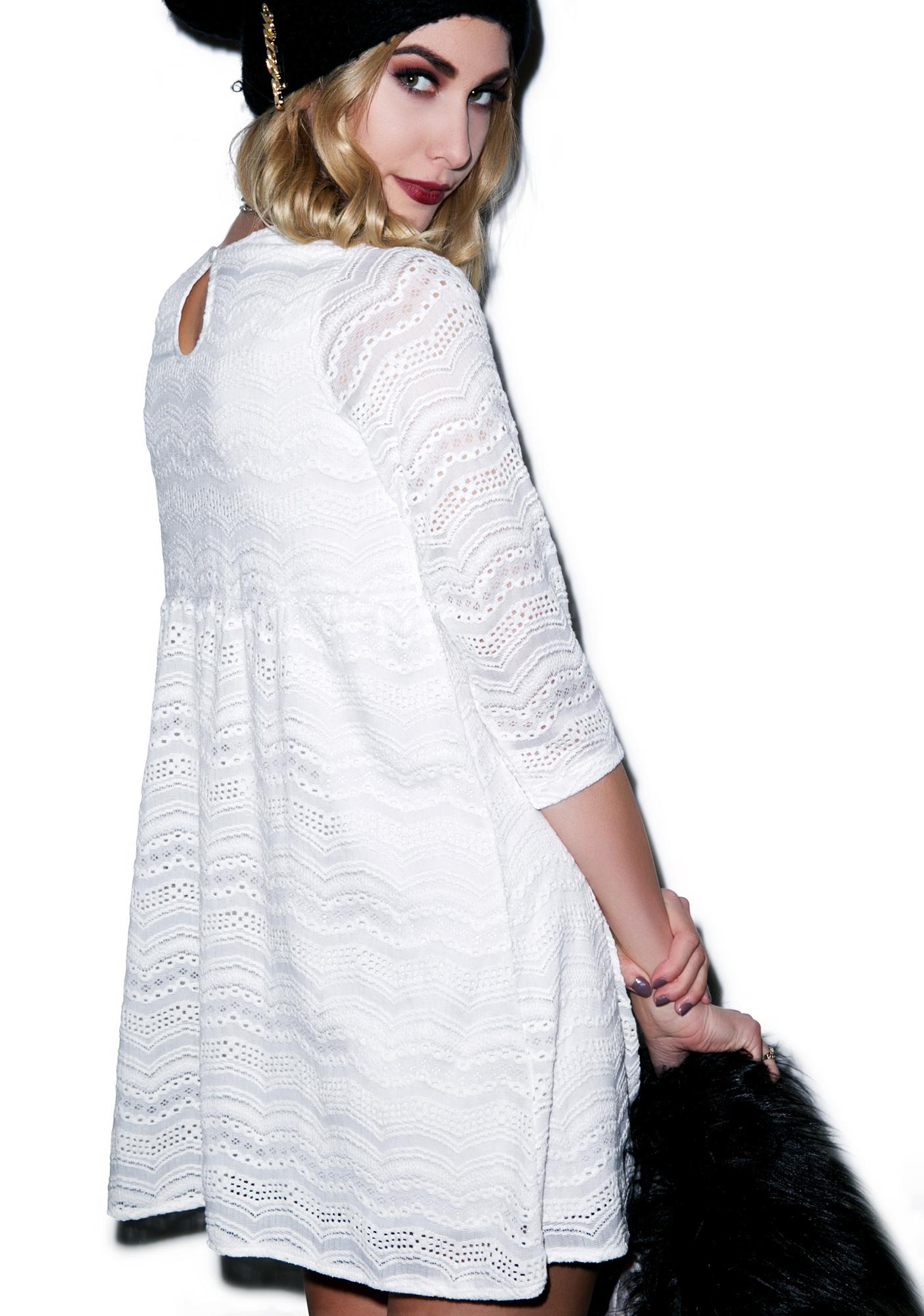 Motel Baby Eyelet Lace Dress