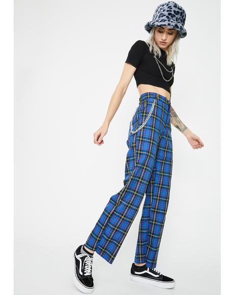 Quinn Blue Pants