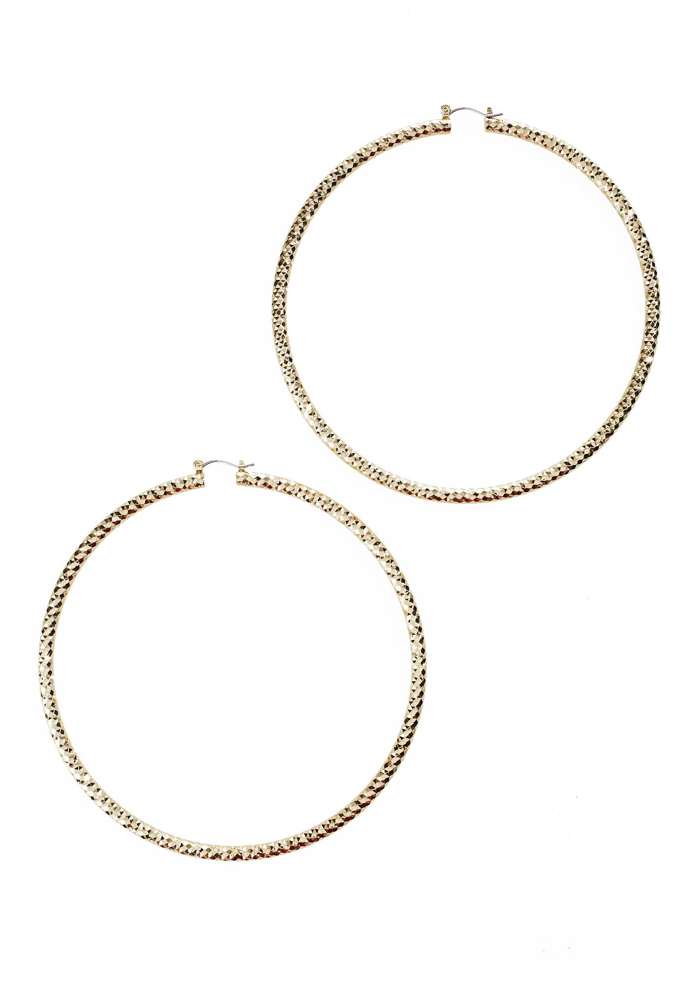 New Wave Hoop Earrings