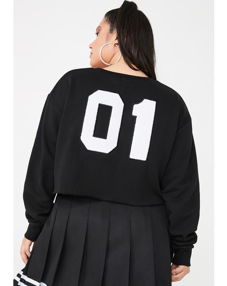 Legit Bish Squad Cropped Sweatshirt